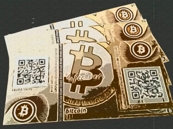 Paper wallet (бумажный кошелек)